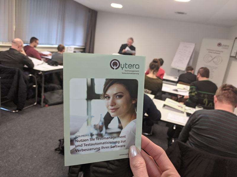 ISTQB Schulungsraum mit Teilnehmern
