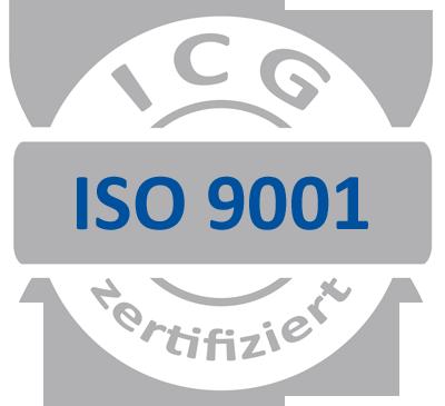 DIN EN ISO 9001:2015 Zertifizierung