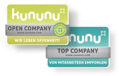 Kununu-Top Company und Open Company! Qytera