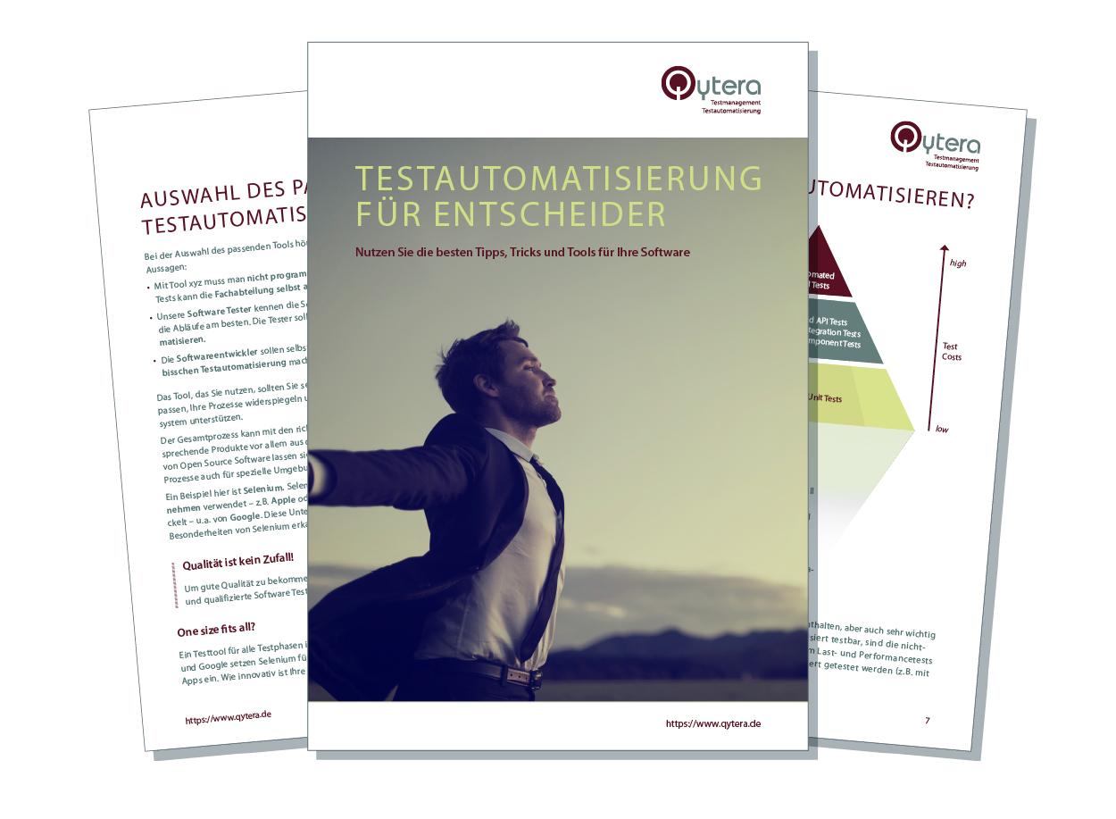 Testautomatisierung Infos & Tipps - kostenloses eBook