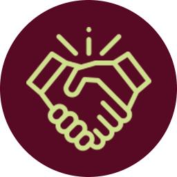 Icon für Bewerbungsunterlagen